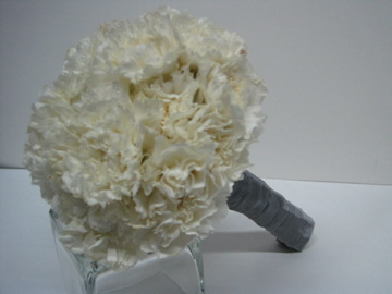 white carnations... really!