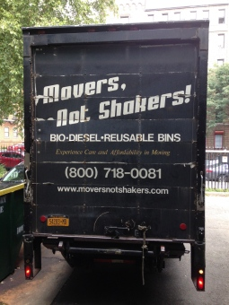 movers, not shakers always gets us where we need to be!